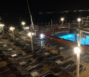 Lido Pool after Dark