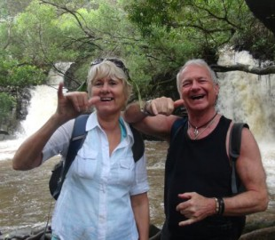 Hang Loose on the Rainforest and waterfall excursion Pride of America Cruise May 2014