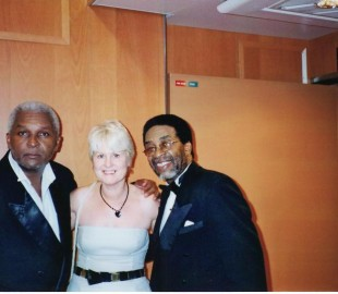 The Drifters were in the next suite to ourselves on Voyager of the Seas Nov 2004 Caribbean Cruise