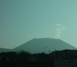 Vesuvius, early a.m.