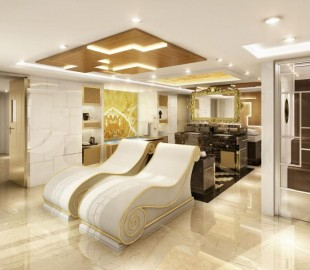 Regent Suite Spa - The first suite at sea to have its own spa