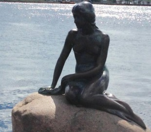 Little Mermaid statue, Copenha