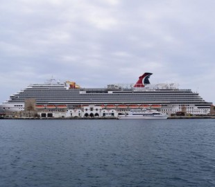 Carnival Vista in Rhodes