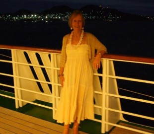 My Darling wife on Azamara Quest