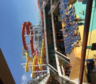Carnival Vista - Waterslides