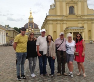 New friends in st petersburg