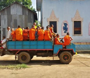 How many monks can you fit in a mini?