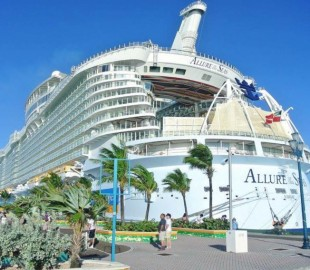 Our Chistmas cruise on Allure of the Seas