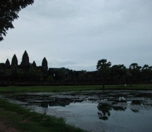 It was an early start to see Angkor Watt - 4:00am - Worth it to see the sun rise over the temple