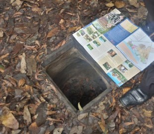 Until you see them you can't believe how small some of the entrances are to the Cu Chi tunnels