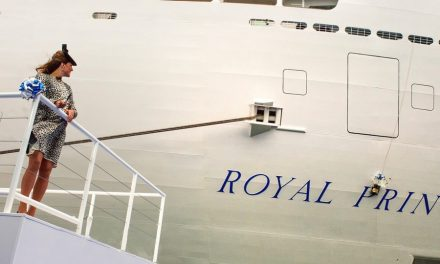 Royal Princess reaches first-year milestone