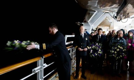 Minute Silence for Centenary of Lusitania Sinking in World War One