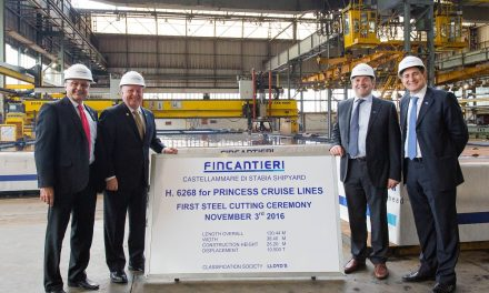Work Officially Begins On Fourth Ship For Princess' Royal Class