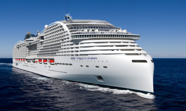 MSC Cruises Celebrate Key Construction Milestone For LNG-Propelled MSC World Europa