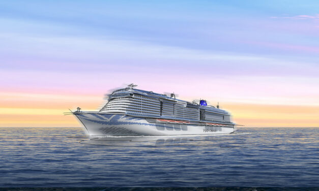 P&O Cruises announce the name of their brand new ship!