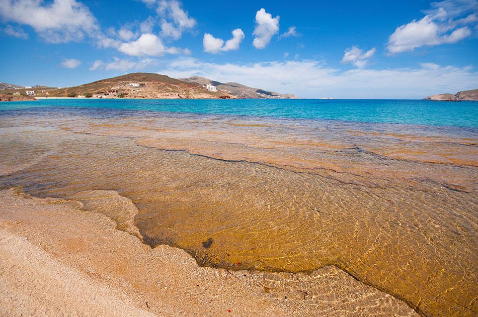 Mykonos hidden beach