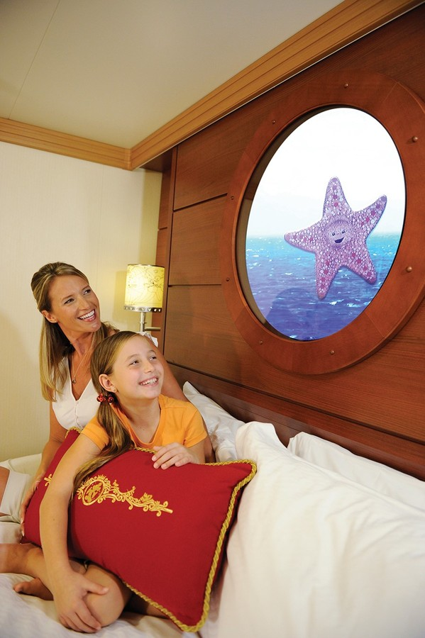 Disney magic porthole