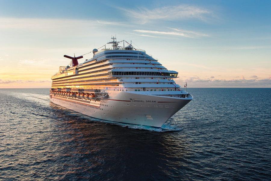 Carnival Dream At Sea