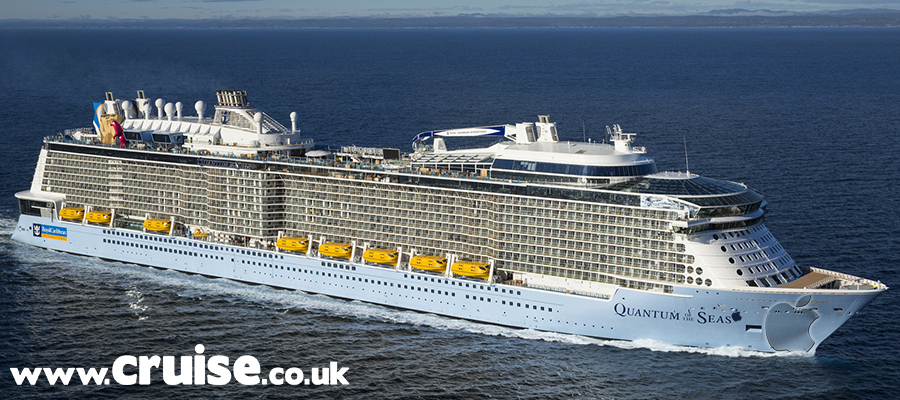 Quantum of the Seas - Sea Trials Norway 10/13/2014