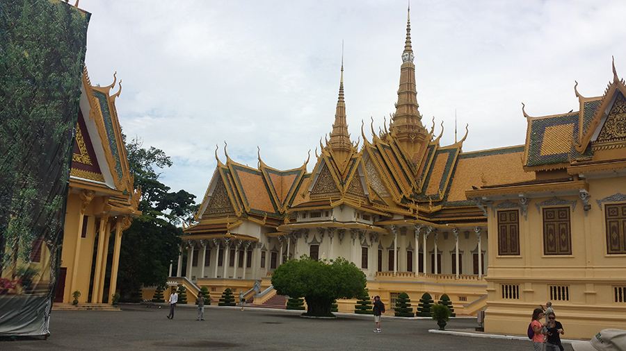 Golden Palace of Phnom Penh