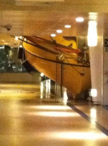 Visible damage to the Explorer of the Seas