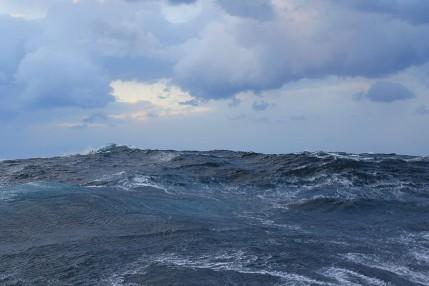 40ft Waves damaged the Royal Caribbean Vessel