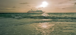 Seabourn Odyssey at Sea
