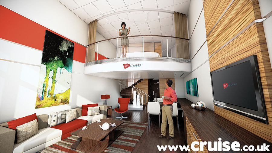 Virgin Cruise cabins