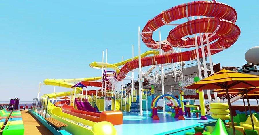 Carnival Vista Water park