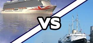 P&O Britannia Vs HMY Britannia