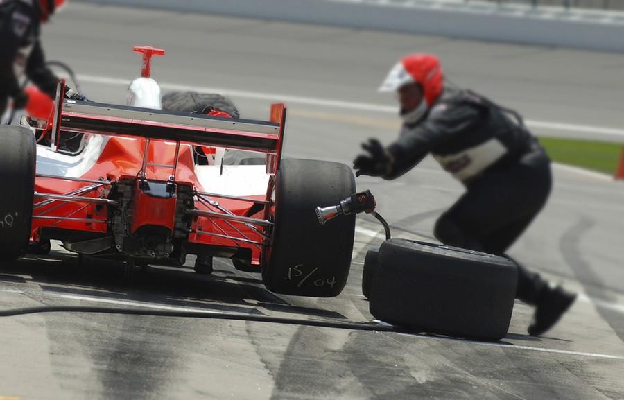 F1 Pit Lane access