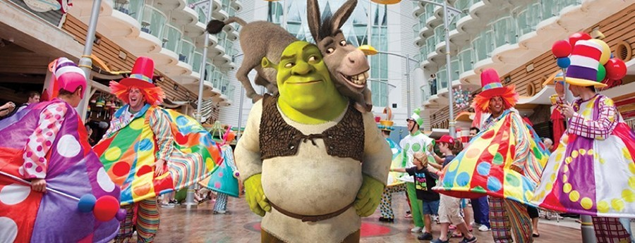 Dreamworks experience on Royal Caribbean