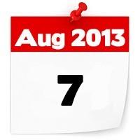 07th Aug 2013