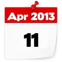 11th April 2013