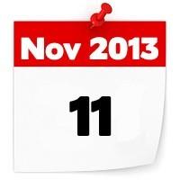 11th Nov 2013
