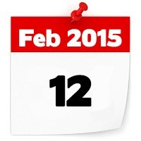 12th Feb 2015