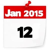 12th Jan 2015