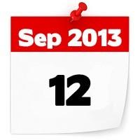 12th Sep 2013