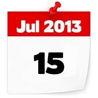 15th July 2013