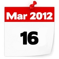 16th March 2012