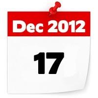 17th Dec 2012