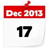 17th Dec 2013