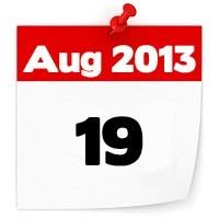 19th Aug 2013