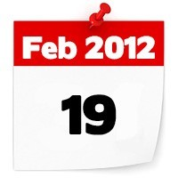 19th Feb 2012