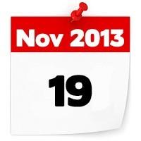 19th Nov 2013