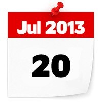 20th July 2013