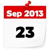 23rd September 2013