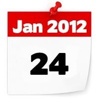 24 jan 2012