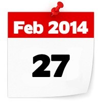 27th Feb 2014