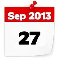 27th Sep 2013